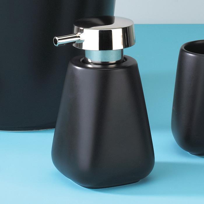 seifenspender seifendosierer dosierer schwarz neu kona ebay. Black Bedroom Furniture Sets. Home Design Ideas