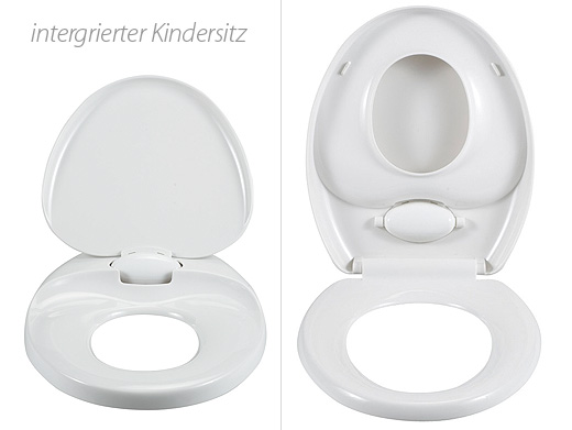 wc sitz kinder kindersitz toilettensitz deckel neu wei ebay. Black Bedroom Furniture Sets. Home Design Ideas