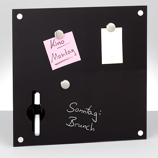 glas memobord magnettafel whiteboard schreibtafel tafel wandtafel stift magnet ebay. Black Bedroom Furniture Sets. Home Design Ideas