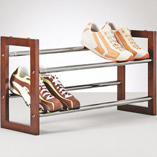 Zapatero extensible estante del zapato mueble para calzado for Mueble zapatero ebay