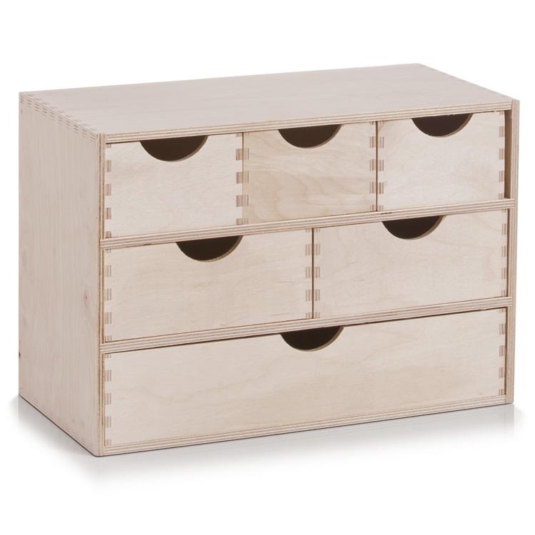 Boxspringbett Holz Mit Schubladen ~ 6erSchubladenelementHolzunbehandeltSchubladenRegalWandregal