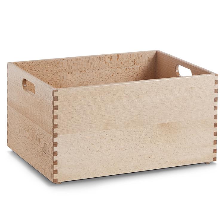 Allzweckkiste Buche Holz Holzkiste Spielzeugkiste ...