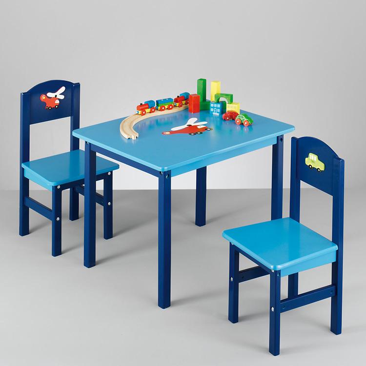 Kindermöbel tisch und stühle  3TLG KINDER SITZGARNITUR STUHL TISCH SITZECKE SITZGRUPPE ...