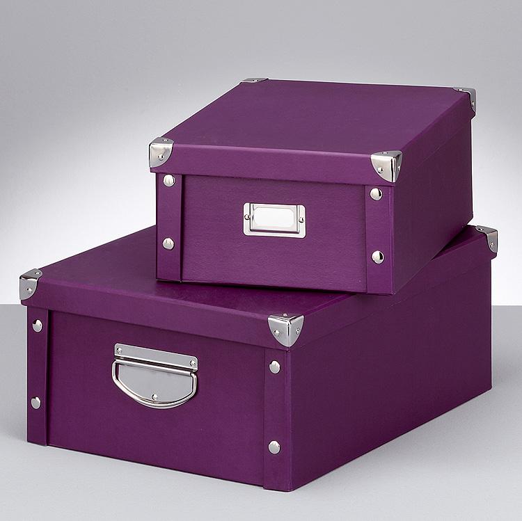 Aufbewahrungsbox Pappkarton PAPPSCHACHTEL KISTE ...