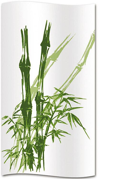 bambus duschvorhang duschwand duschabtrennung gr n wei. Black Bedroom Furniture Sets. Home Design Ideas