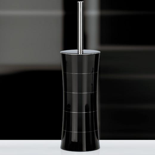 Vaso distribuidor de jab n jabonera escobilla de ba o for Set de bano acero inoxidable