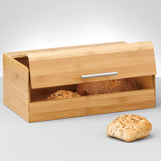 bambus brotkasten holz massiv brotbox brot kasten neu ebay. Black Bedroom Furniture Sets. Home Design Ideas