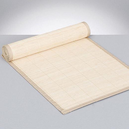 Tischlaufer Bambus Holz Tischdecke Platz Set Natur Holz Tischband
