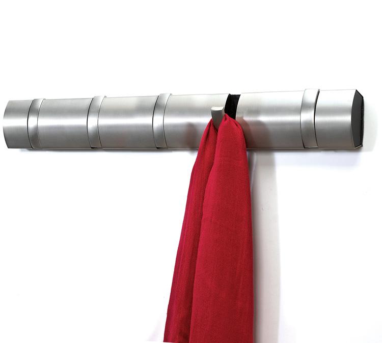 Umbra hakenleiste design garderobenleiste wandgarderobe for Garderobe hakenleiste