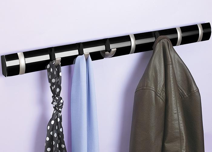 Umbra hakenleiste design garderobenleiste wandgarderobe for Garderobe umbra