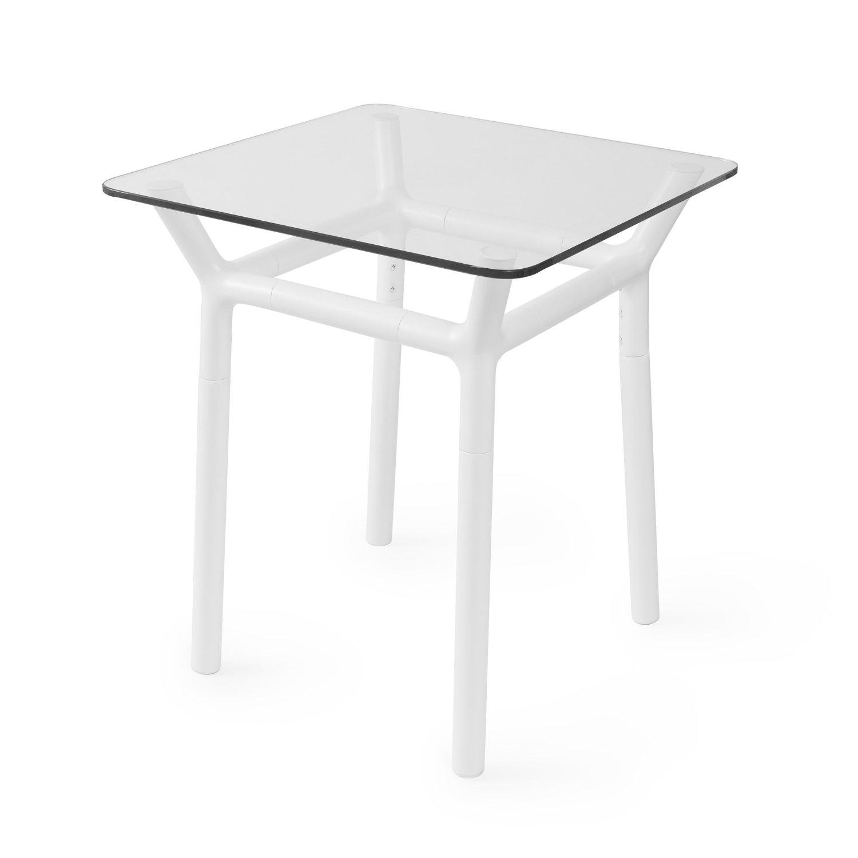umbra couchtisch holz alu wei natur beistelltisch loungetisch glastisch tisch ebay. Black Bedroom Furniture Sets. Home Design Ideas