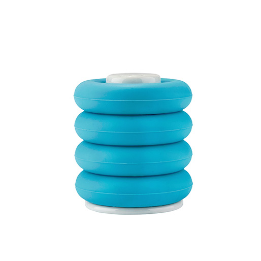 set eierbecher mit salzstreuer keramik silikon 5tlg eierhalter eierbeh lter neu ebay. Black Bedroom Furniture Sets. Home Design Ideas