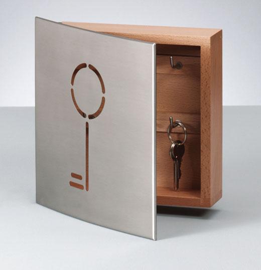 schl sselkasten edelstahl schl sselbox schl sselschrank schl ssel leiste haken ebay. Black Bedroom Furniture Sets. Home Design Ideas