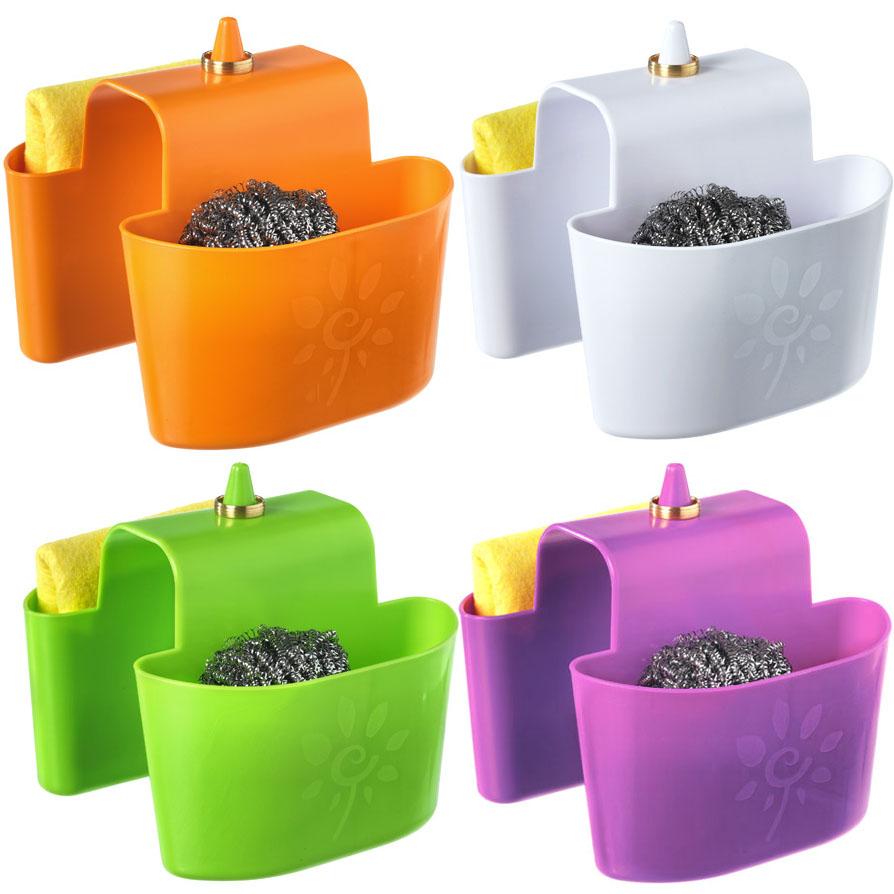 Portaspugna per lavello cucina cestino spugna vassoio di - Spugna per pulire bagno ...